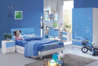 Как да изградим интериор в синьо за различните помещения на дома